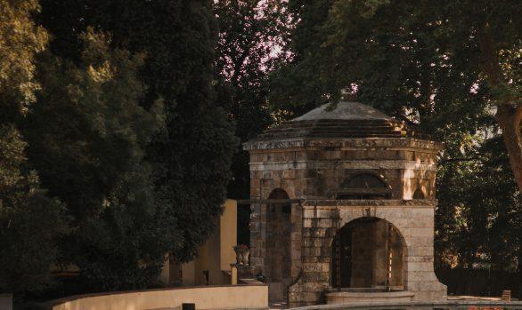 Jardim do Palácio Nacional de Mafra